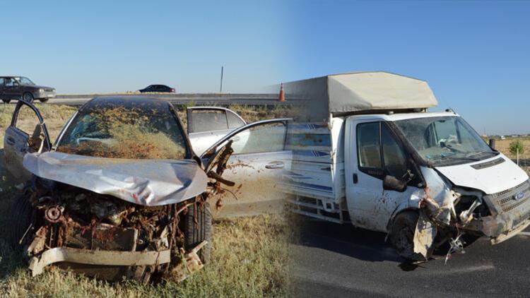 Otomobil, koyun sürüsüne daldı Çoban öldü, 2 kişi yaralandı