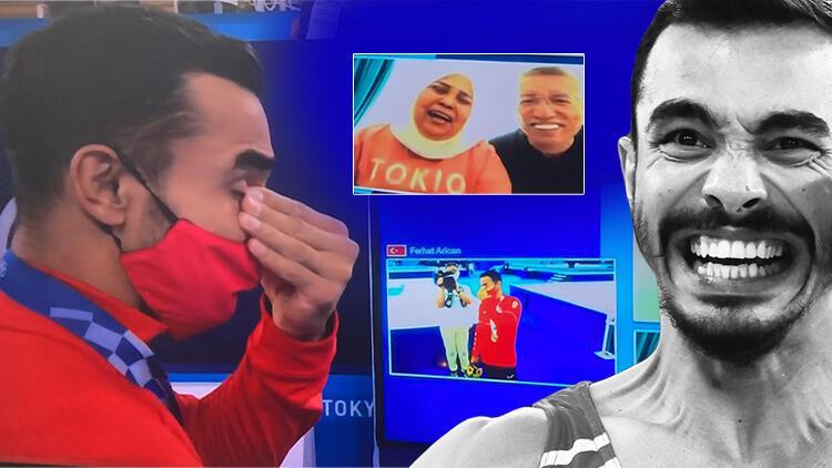 Son dakika: Ferhat Arıcandan Tokyo 2020de bronz madalya Tarihimizde ilk...