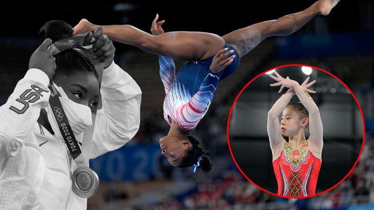 Tokyo 2020 Haberleri: ABDli cimnastikçi Simone Biles denge aletinde bronz madalya kazandı
