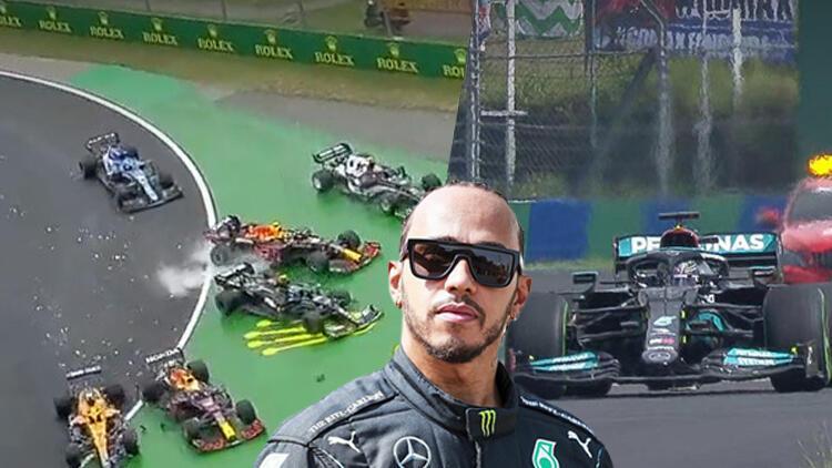 Bottasın teması, Macaristan pistinde bowling... Alonso yarışı ayakta izletti, Mercedesin hatası ve Alpine