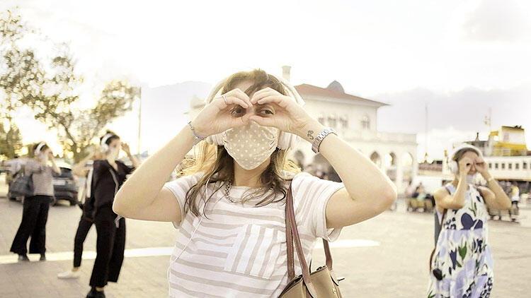 İstanbul'u keşfediyorum...