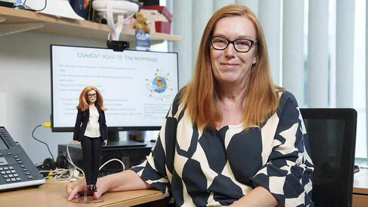 Aşı mucidi Sarah Gilbert Barbie bebek oldu