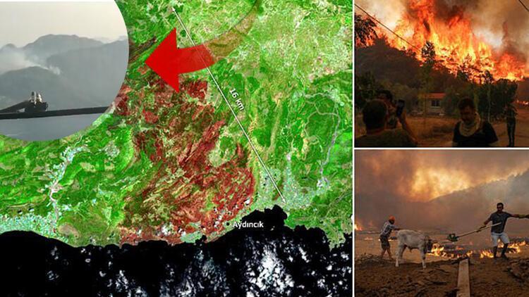 Son dakika haberi: Havadan ilk görüntüler... İspanyol pilotlar paylaştı