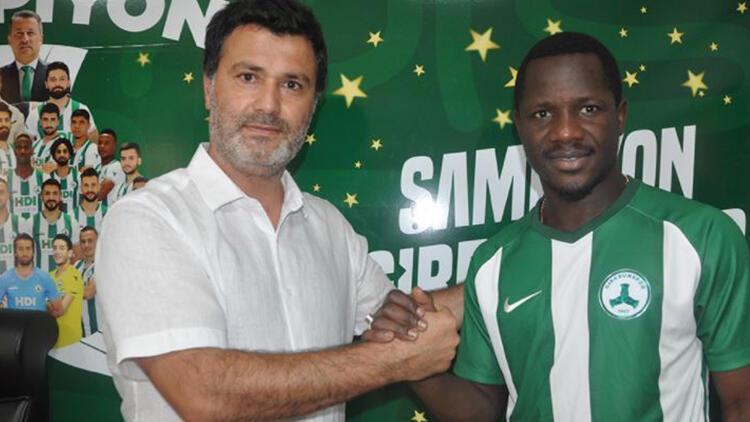 Giresunspora Adana Demirspordan transfer 2+1 yıllık...