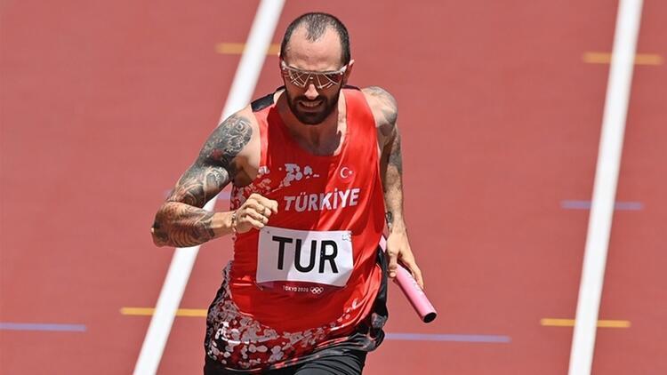 Tokyo 2020 Haberleri: Türk Milli Takımımız, 4x100 metre bayrak yarışında diskalifiye edildi