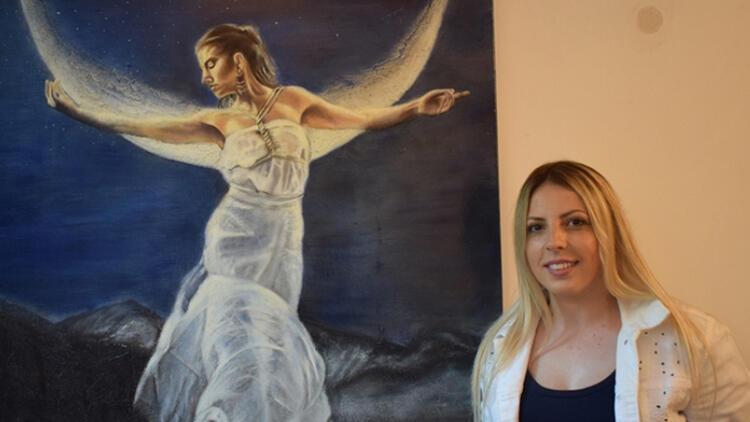 Ressam Özlem Garipin eserleri Leonardo da Vinci Müzesi koleksiyonunda