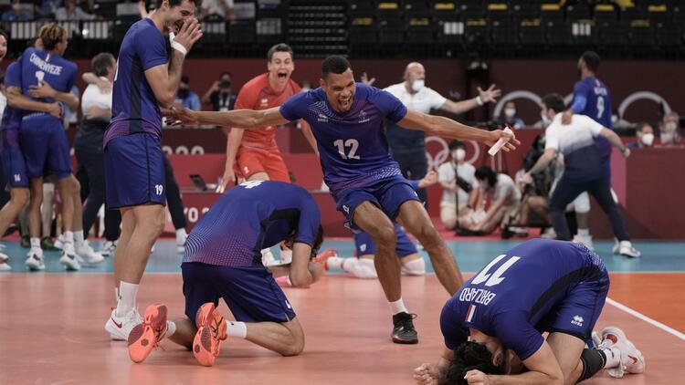 Tokyo 2020 Haberleri: Erkekler voleybolda Rusya Olimpiyat Komitesinin finaldeki rakibi Fransa