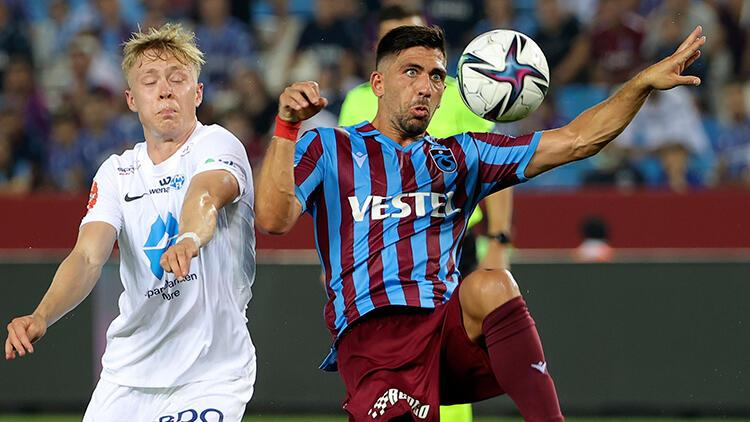 Son Dakika: Trabzonspor 3-3 Molde / Maç sonucu ve özeti