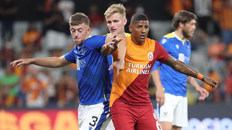 Galatasaray 1-1 St.Johnstone (UEFA Avrupa Ligi maç özeti ve golleri)