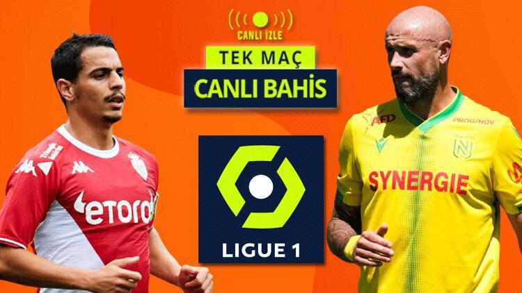 Fransa Ligue 1de sezonu Stade Louisde açıyoruz Monaconun Nantes karşısında iddaa oranı...