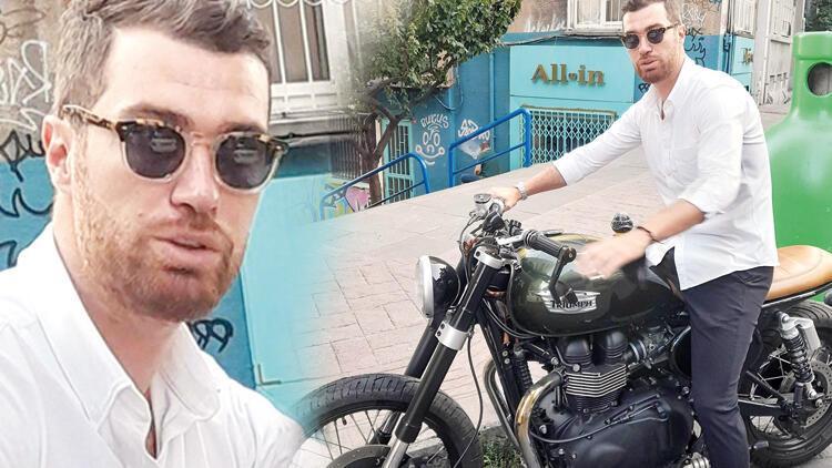 Oğulcan Enginin motosikletini çaldılar