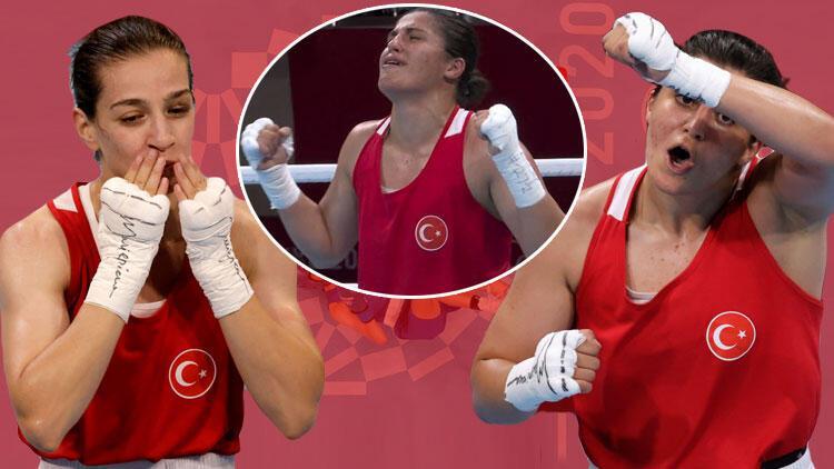 Son Dakika: Tokyo 2020de Busenaz Sürmeneliden altın, Buse Naz Çakıroğlundan gümüş madalya Kadınlar boksta tarih yazdılar...