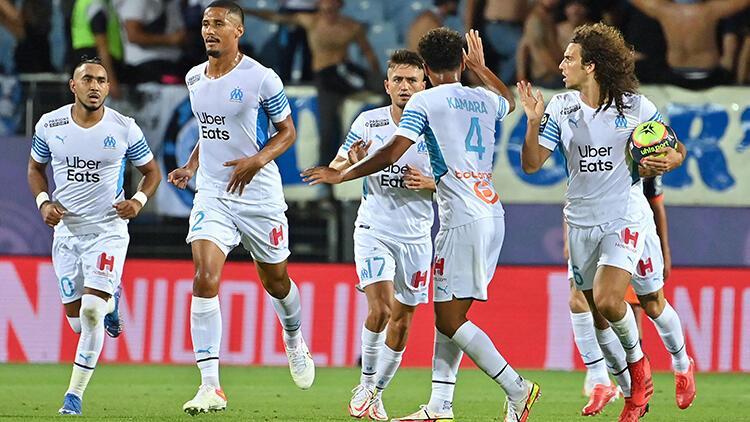 Cengiz Ünder siftah yaptı, Marsilya 2-0 geriden gelerek kazandı