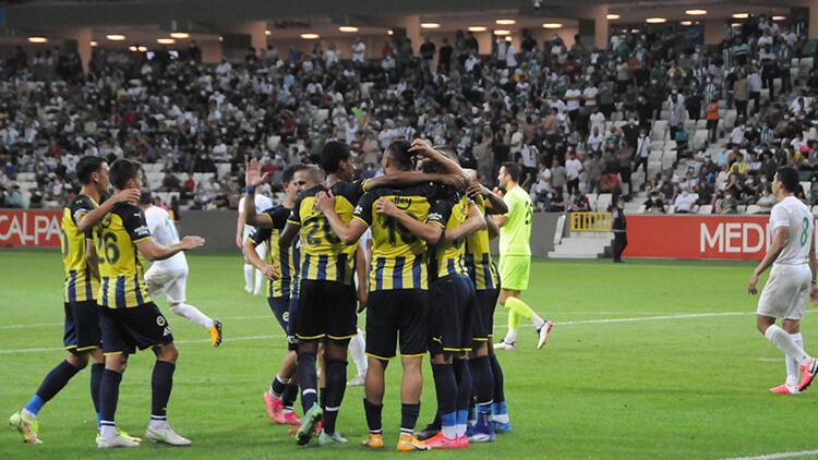 Son Dakika: Giresunspor 1-3 Fenerbahçe / Maç sonucu ve özeti