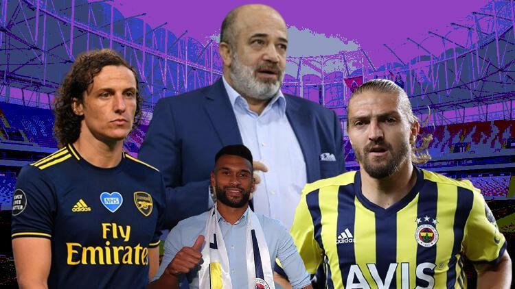 Son Dakika: Adana Demirsporda Başkan Murat Sancaktan David Luiz, Caner Erkin ve Caulker açıklaması