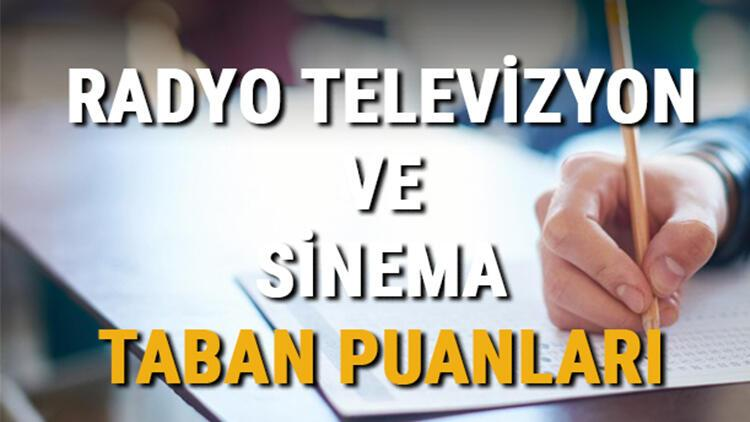 Radyo, Televizyon ve Sinema taban puanları ve başarı sıralamaları 2021