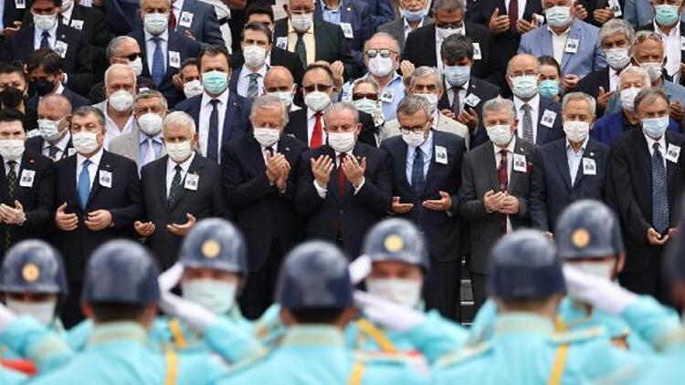 Eski Sağlık Bakanı Yaşar Eryılmaz için TBMMde tören