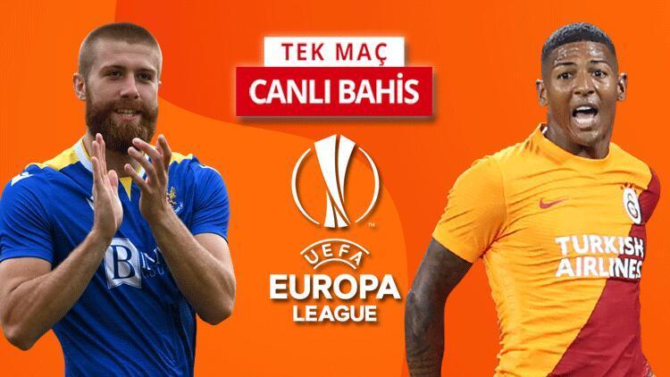 Galatasaray, Avrupa Liginde devam etme aşkına sahada St. Johnstone karşısında galibiyetlerine iddaada...