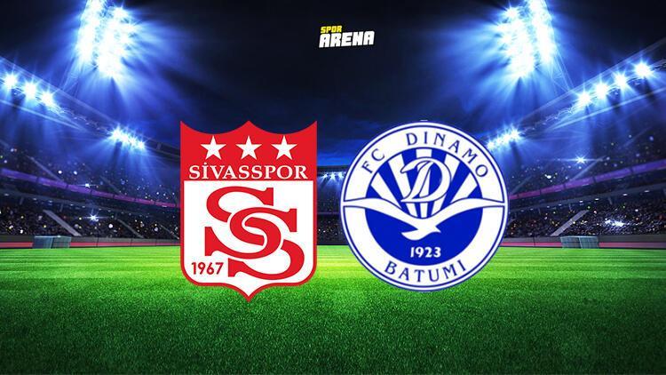 Sivasspor Dinamo Batum maçı ne zaman, saat kaçta ve hangi kanalda