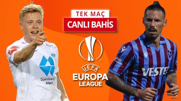 Trabzonspor, Konferans Liginde devam etmek için Molde deplasmanında Bu maça iddaa oynayanların %33ü...