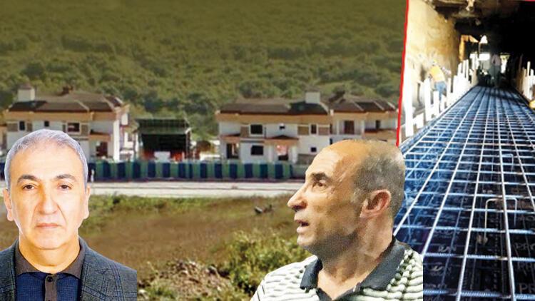 Üniversite kılıflı villa Kaçak tünel bulundu... Kardeşler davalık