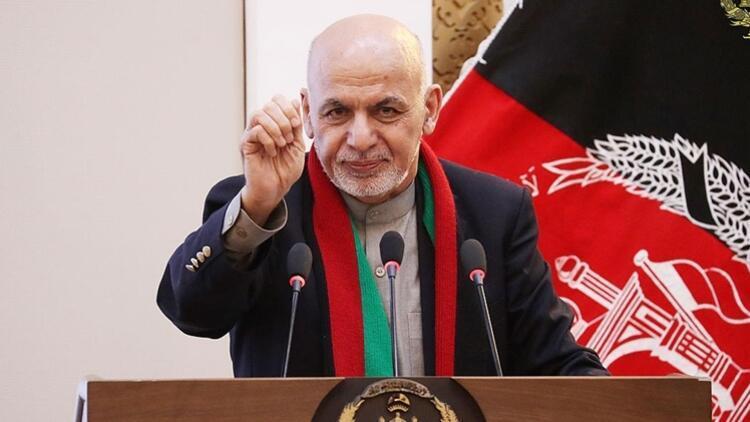 Son dakika: Afganistan Cumhurbaşkanından Taliban açıklaması