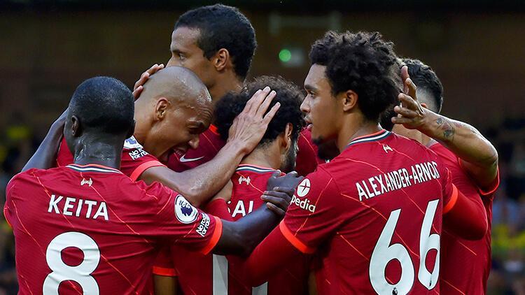Salahın şov yaptığı maçta Liverpool farka koştu