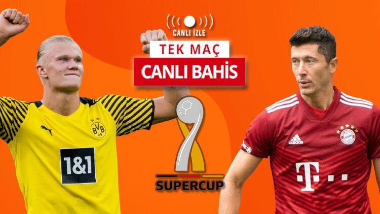 Dortmundda tam 10 eksik Bayernle oynayacakları Süper Kupa maçı CANLI YAYINLA Misli.comda...