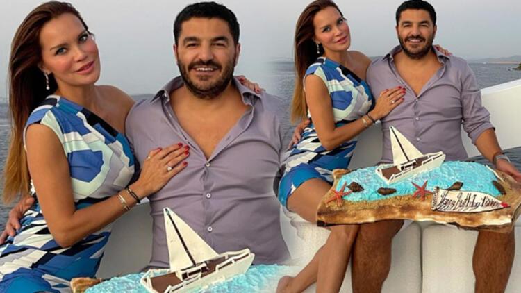 Ebru Şallıdan eşi Uğur Akkuşa 300 bin TLlik doğum günü hediyesi