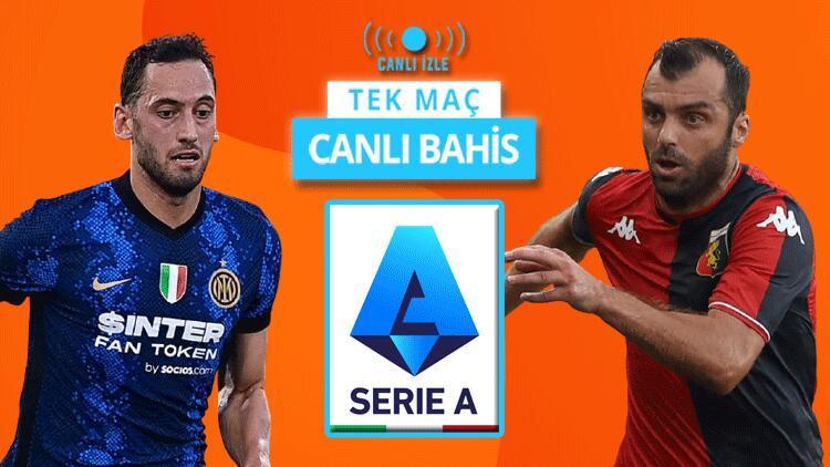Serie Ada yeni sezonu Hakan Çalhanoğlu açıyor Inter-Genoa maçı CANLI YAYINLA Misli.comda...
