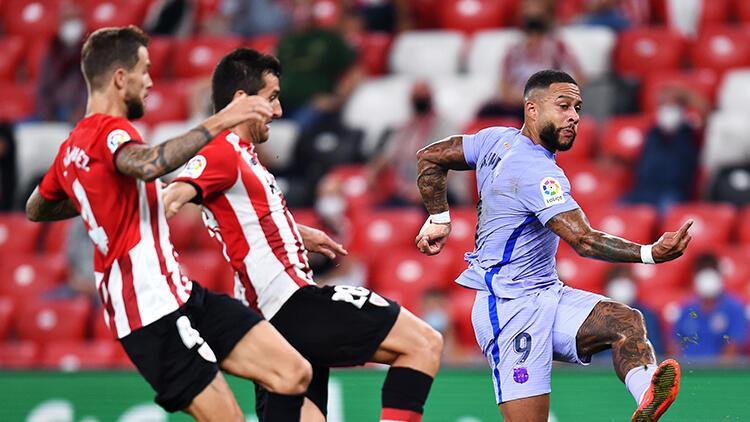 Barcelona, Bilbao deplasmanından 1 puanla döndü