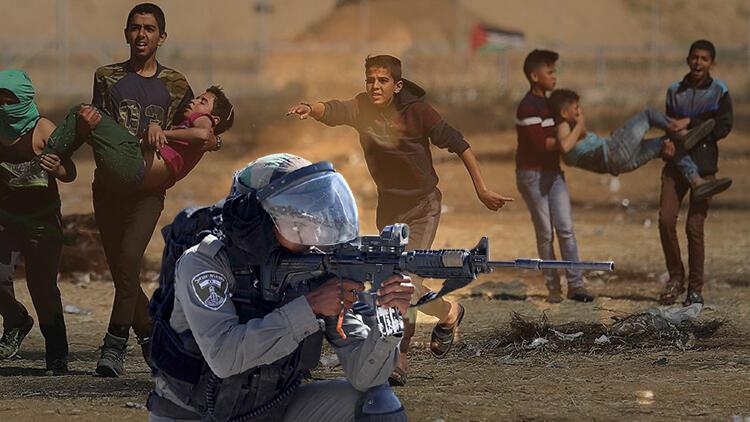 İsrail güçlerinin Batı Şeriada açtığı ateş sonucu Filistinli bir çocuk hayatını kaybetti