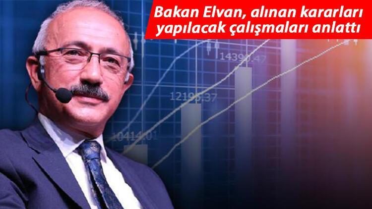 Bakan Elvan: Ekonomide toparlanma başladı