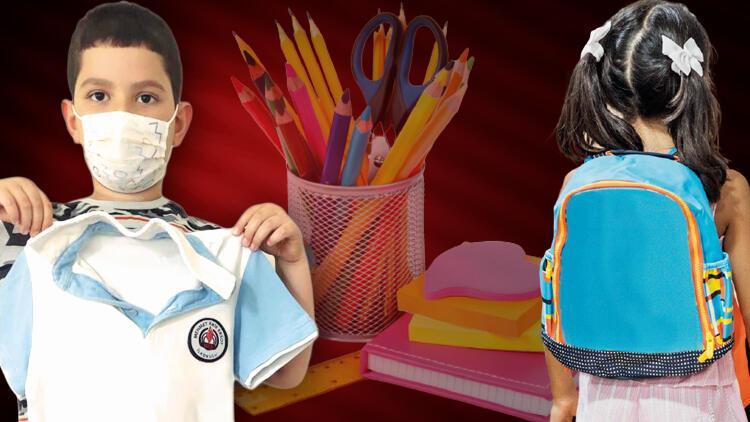 Okul çantası kaça doluyor Çocuklar büyüdü, formalar küçüldü