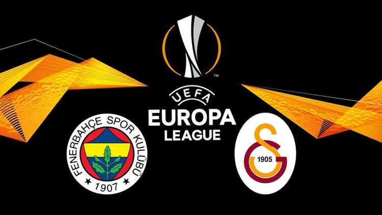 Son dakika: Fenerbahçe ve Galatasarayın UEFA Avrupa Liginde rakipleri belli oldu