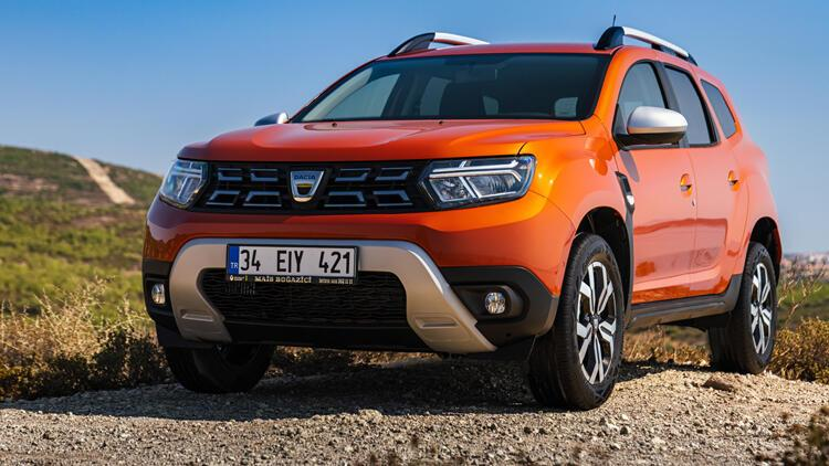 Bir depoya 1235 kilometre Dacia Duster yenilendi…