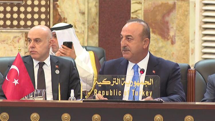 Bakan Çavuşoğlu: Irak'ın imarı için stratejik altyapı projelerini gerçekleştirmeye hazırız