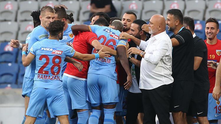 Son Dakika: Başakşehir 0-1 Kayserispor / Maç sonucu ve özeti