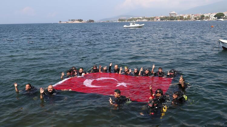 Marmara Denizine zafer dalışı