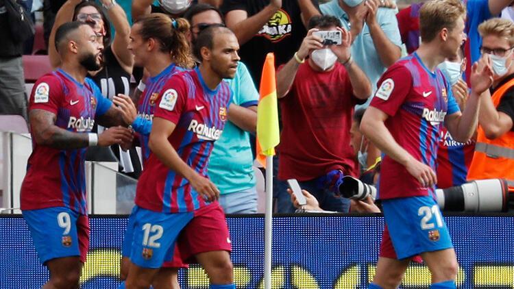 Barcelona 2 - 1 Getafe (Maç özeti)