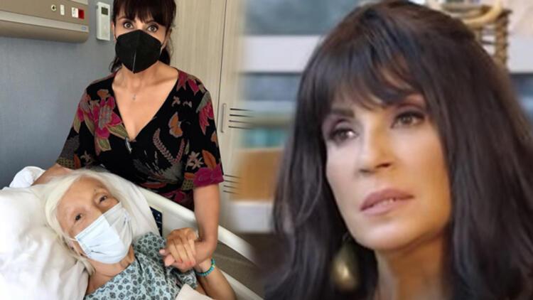 Ayşegül Aldinç'in annesi hastanelik oldu