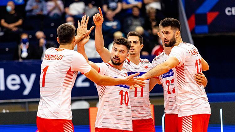 Rusya 1-3 Türkiye (2021 Avrupa Erkekler Voleybol Şampiyonası)