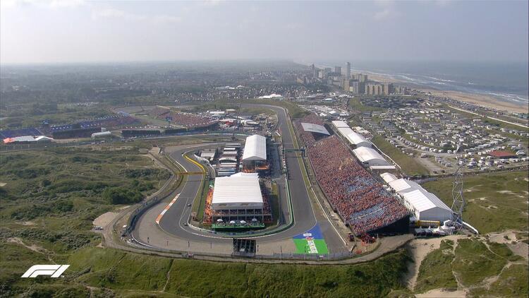 Formula 1de sıradaki durak Hollanda