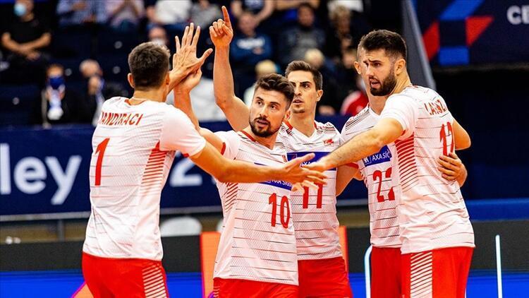 Türkiye Sırbistan voleybol maçı ne zaman saat kaçta hangi kanalda Son 16 turu Türkiye Sırbistan erkek voleybol maçında geri sayım