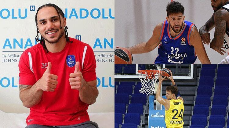 Avrupa basketbolunun en çok kazanan isimleri açıklandı Larkin, Micic, Vesely listede...