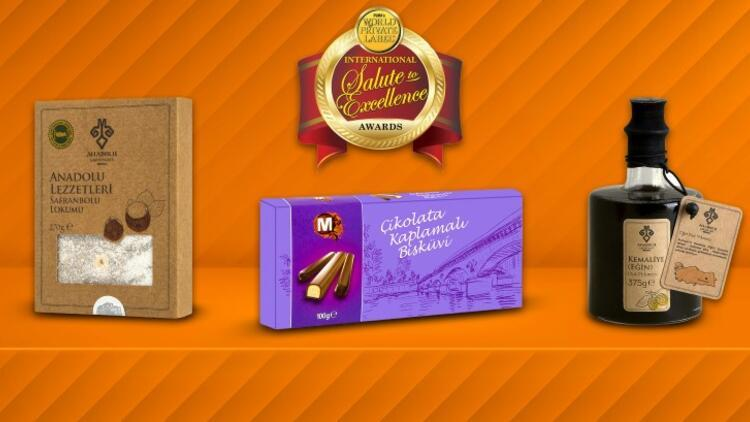 Migros'un özgün markalı ürünlerine uluslararası mükemmellik ödülü