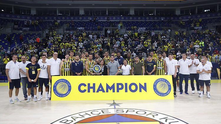 Uluslararası Istanball Cup basketbol turnuvasında şampiyon Fenerbahçe Beko