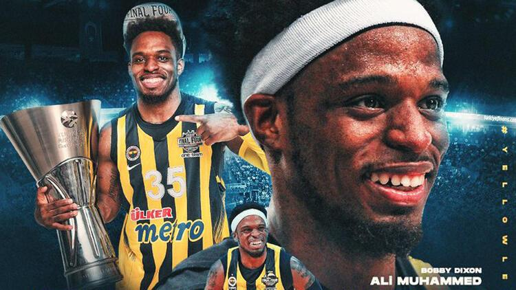 Son Dakika: Fenerbahçe Ali Muhammed (Bobby Dixon) ile yollarını ayırdı Veda açıklaması