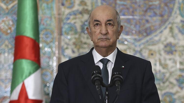 Cezayir Cumhurbaşkanı Tebbun, Suudi Arabistan Dışişleri Bakanı Bin Ferhan ile görüştü