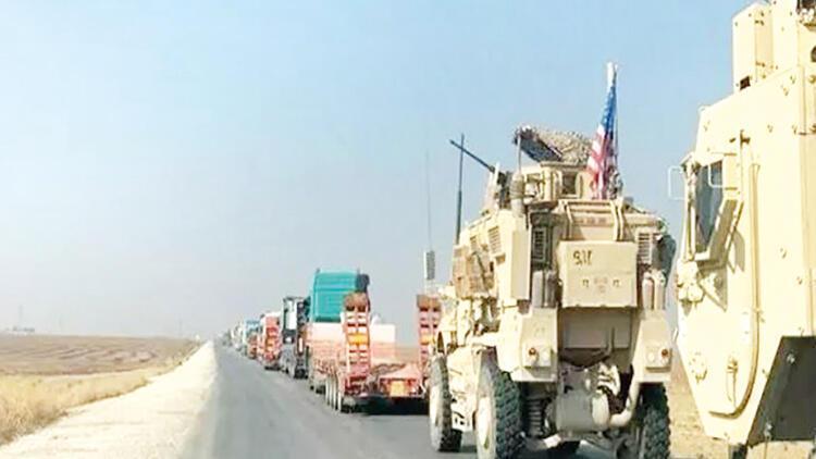 ABD'den Suriye'ye 45 taşıtlık yeni konvoy